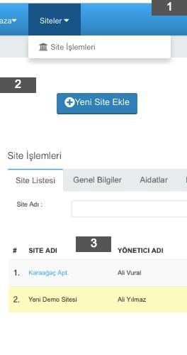 SiteBYS Bina Yönetim Yazılımı