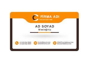 site yönetim firması kartvizit tasarımı